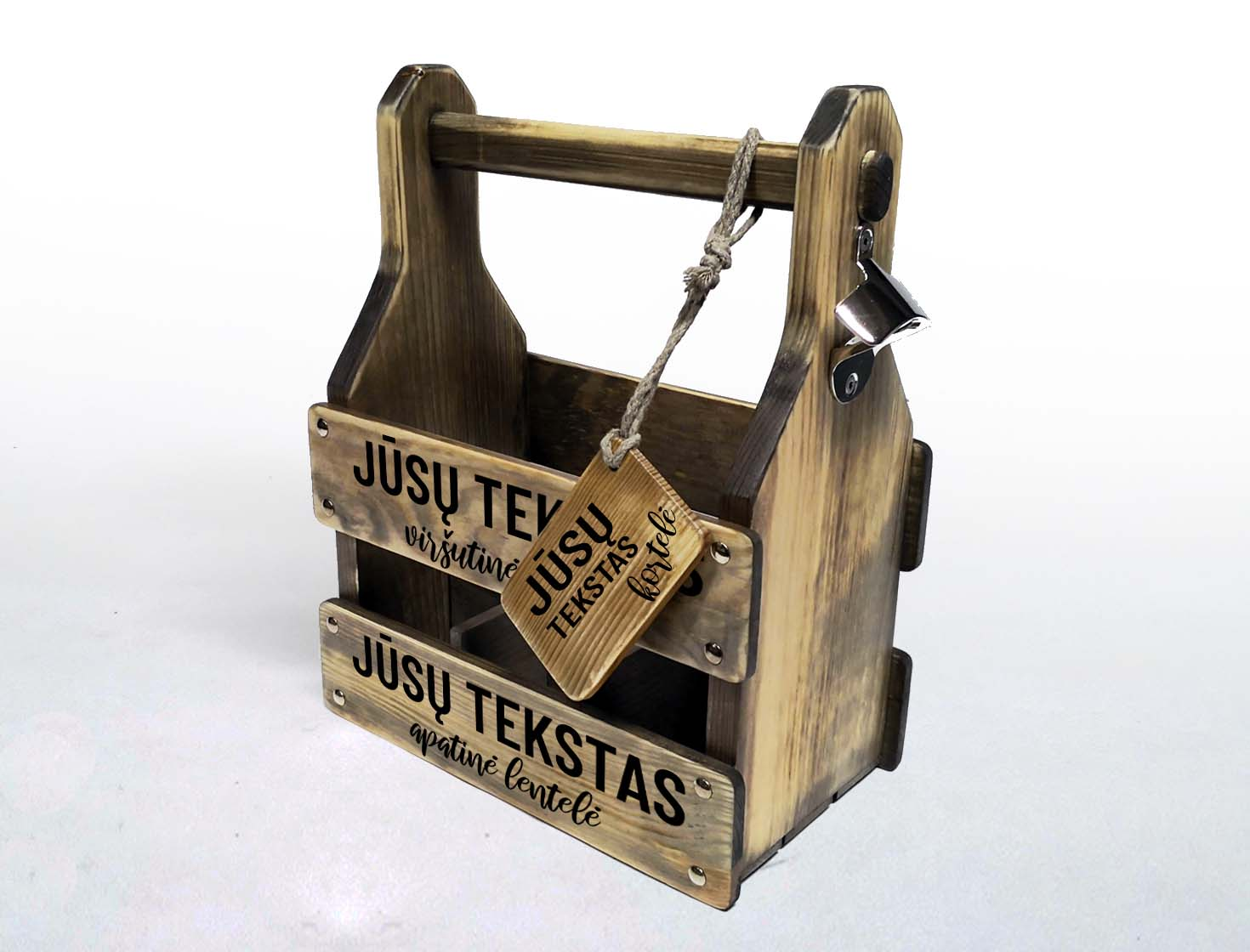 Beer crate gift box