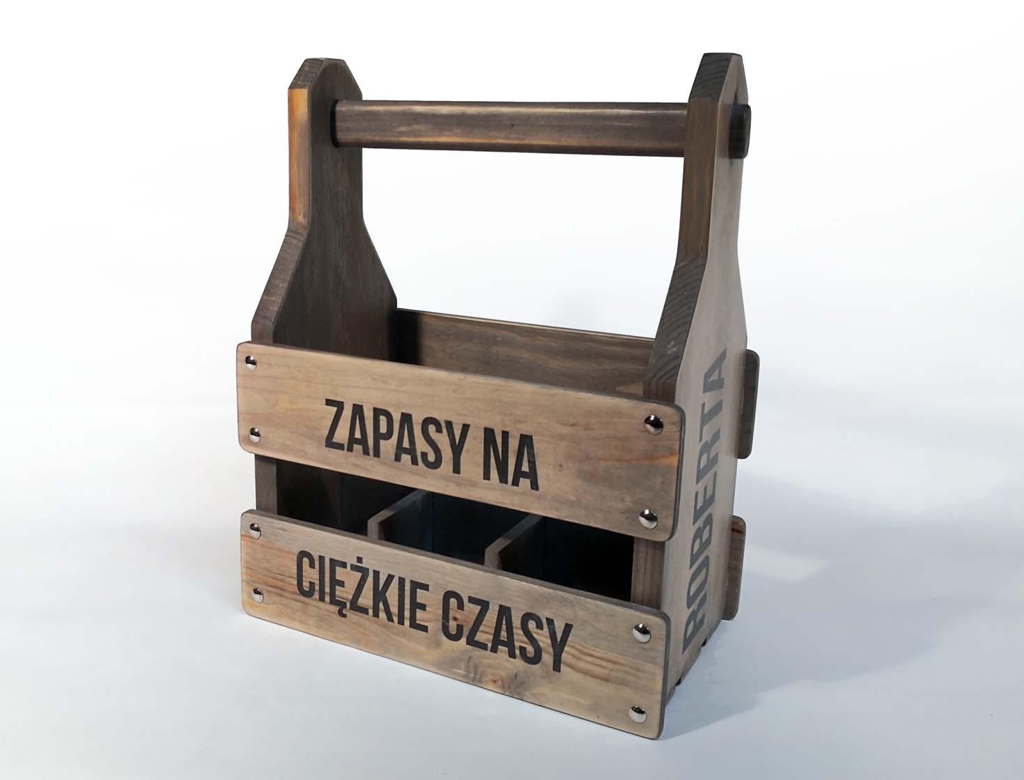 Beer crate Wooden box