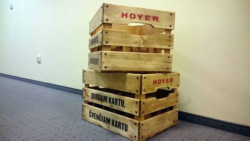 Išskirtinė verslo dovana įmonėms Dėžė alui