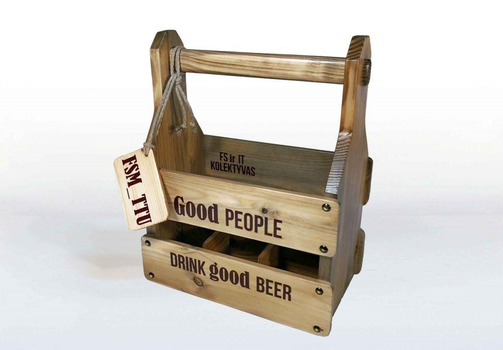 Originali verslo dovana dėžutė alui