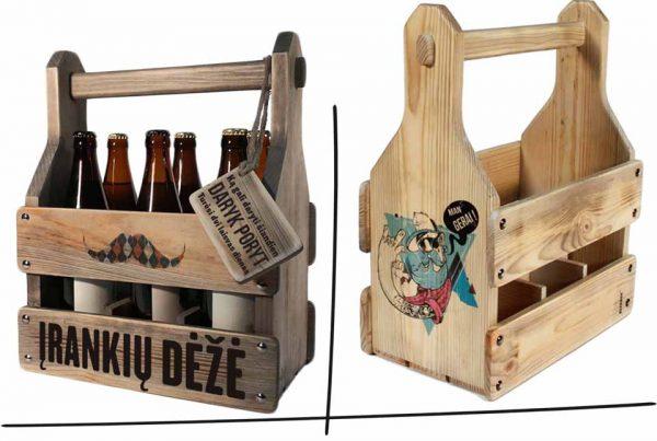 Dovanos vyrams- dėžės alui