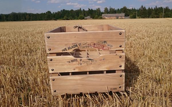 Medinės dėžės alui didelės