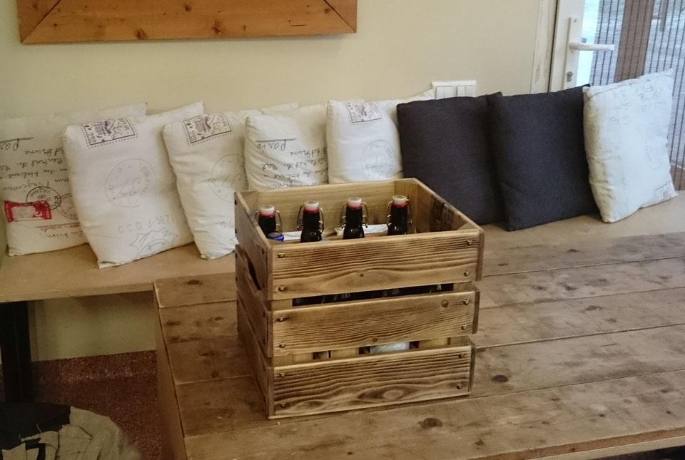 wooden beer box for men